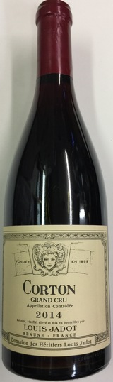 Louis Jadot Corton Grand Cru 2014