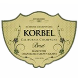 Korbel Brut Made with Organic Grapes