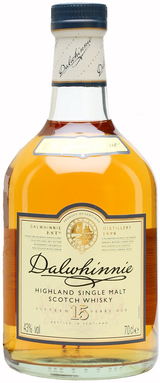 Dalwhinnie Distillery Single Malt Scotch Whisky 15 year old