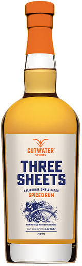 Cutwater Spirits Three Sheets Spiced Rum