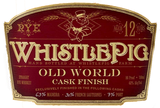 WhistlePig Old World Cask Finish Rye Whiskey 12 year old