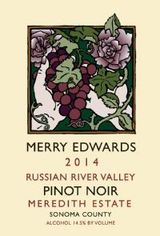 Merry Edwards Meredith Estate Pinot Noir 2014