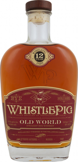 WhistlePig Canal's Bespoke Blend Old World Rye 12 year old