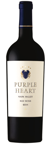 Purple Heart Napa Valley Red Wine 2014