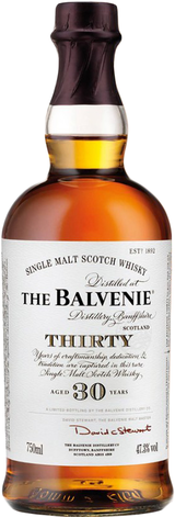 Balvenie Single Malt Scotch Whisky 30 year old