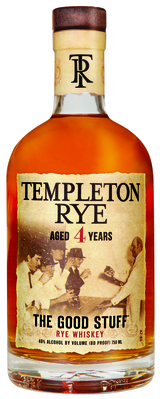 Templeton Rye The Good Stuff Rye Whiskey 4 year old