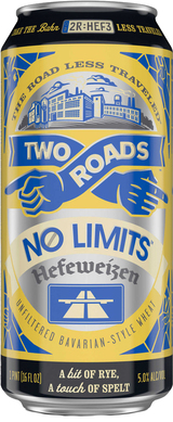 Two Roads Brewing Company No Limits Heffeweizen