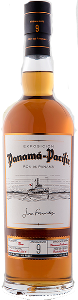 Panama Pacific Rum 9 year old