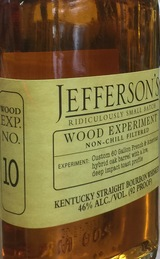 Jefferson's Wood Experiment Collection No. 10