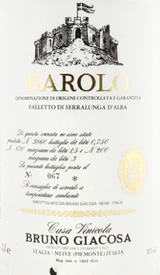 Falletto di Bruno Giacosa Barolo Falletto 2009