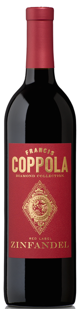 Francis Ford Coppola Diamond Series Red Label Zinfandel 2015