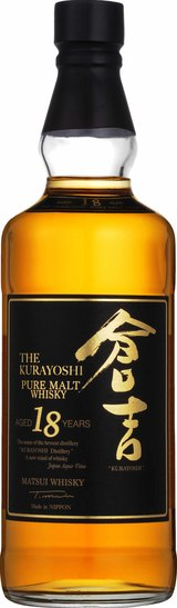 Matsui-Shuzo The Kurayoshi Pure Malt Whisky 18 year old