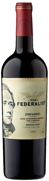 The Federalist Bourbon Barrel Aged Zinfandel 2015