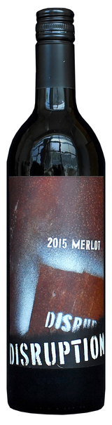 Disruption Wine Company Merlot 2015