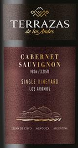Terrazas De Los Andes Single Vineyard Los Aromos Cabernet Sauvignon 2013