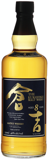 Matsui-Shuzo The Kurayoshi Pure Malt Whisky 8 year old