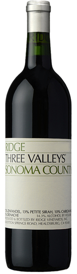 Ridge Vineyards Three Valleys 2016