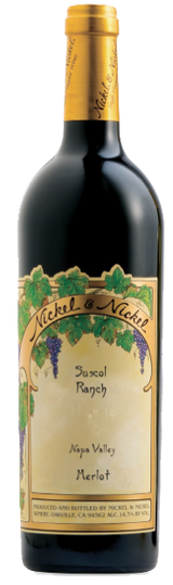 Nickel & Nickel Suscol Ranch Vineyard Merlot 2015