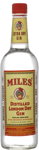 Miles' Gin Distilled London Dry Gin
