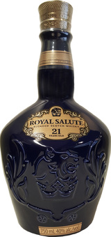 Chivas Regal Royal Salute Blended Scotch Whisky 21 year old