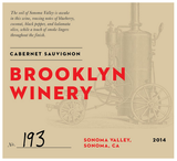 Brooklyn Winery Cabernet Sauvignon 2014