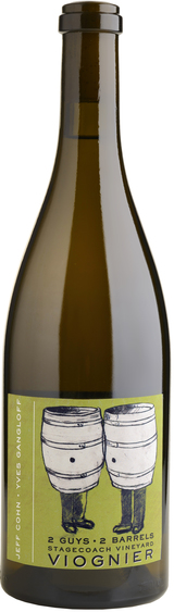 Jeff Cohn Cellars  Stagecoach Vineyard 2 Guys 2 Barrels Viognier 2014