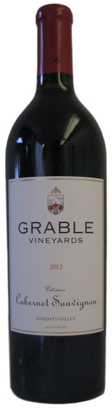 Grable Vineyards Patience Cabernet Sauvignon 2012