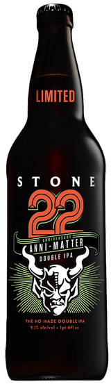 Stone Brewing Co. 22nd Anniversary Anni-Matter Double IPA