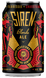 Crosstown Brewing Company Siren Blonde Ale