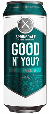 Springdale by Jack's Abby Good N' You? IPA