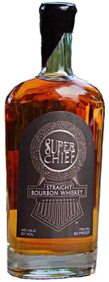 Train Wreck Distillery Super Chief Straight Bourbon Whiskey