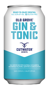 Cutwater Spirits Old Grove Gin & Tonic