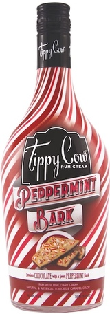 Tippy Cow Peppermint Bark Rum Cream