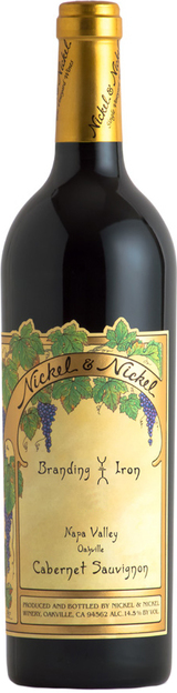 Nickel & Nickel Branding Iron Vineyard Cabernet Sauvignon 2016