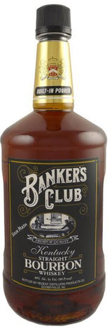 Bankers Club Straight Bourbon Whiskey