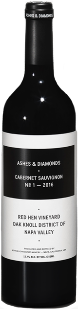 Ashes & Diamonds Red Hen Vineyard Cabernet Sauvignon 2016