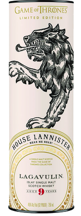 The Game of Thrones Whisky Collection Lagavulin House Lannister 9 year old