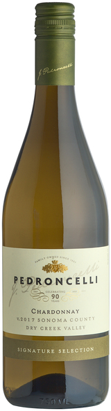 Pedroncelli Dry Creek Valley Chardonnay 2017