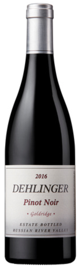 Dehlinger Goldridge Vineyard Pinot Noir 2016