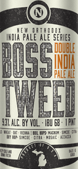 Old Nation Brewing Boss Tweed Double New England IPA