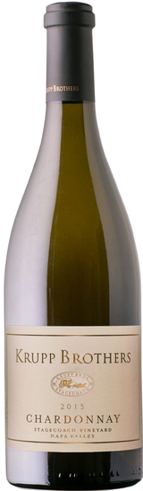 Krupp Brothers Stagecoach Vineyard Chardonnay 2015
