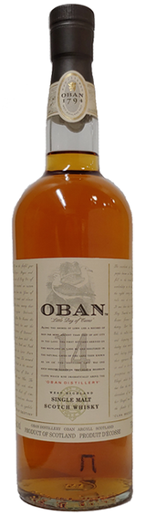 Oban Single Malt Scotch Whisky 14 year old