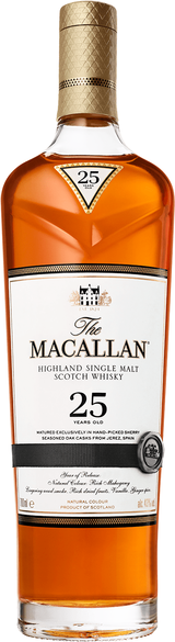 Macallan Sherry Oak Single Malt Scotch Whisky 25 year old