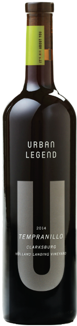 Urban Legend Holland Landing Vineyard Tempranillo 2014