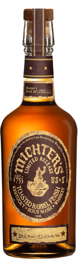 Michter's Us*1 Limited Release Toasted Barrel Finish Sour Mash Whiskey
