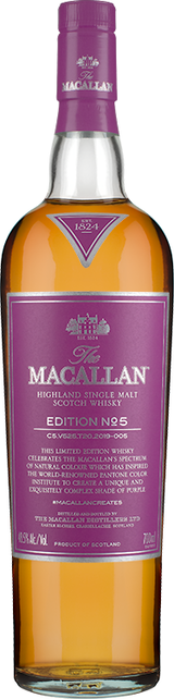 Macallan Edition No 5 Highland Single Malt Scotch Whisky