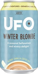 Harpoon Brewery UFO Winter Blonde Ale