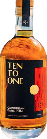Ten To One Rum Gold