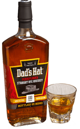 Dad's Hat Pennsylvania Straight Rye Whiskey Bottled in Bond 5 year old