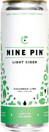 Nine Pin Cucumber Lime Cider